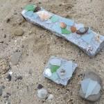 海辺でおままごと、ビーチグラスショップ