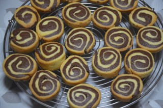 [長女のパティシエ修行] #7 ぐるぐるクッキー