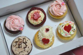 ベラズカップケーキで祝う、長女7歳のお誕生日