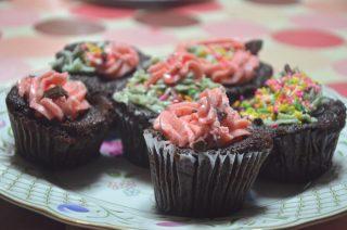 [長女のパティシエ修行] #15 チョコミントカップケーキ