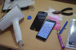 iPhoneの画面割れを自力で直す!修理キットを取り寄せて、液晶ガラスを交換しました