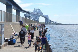 江東区若洲公園の釣り施設(防波堤・人工磯)とアスレチック公園、若洲海浜公園サイクリングロードをお散歩