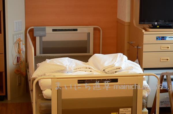 大部屋のベッド