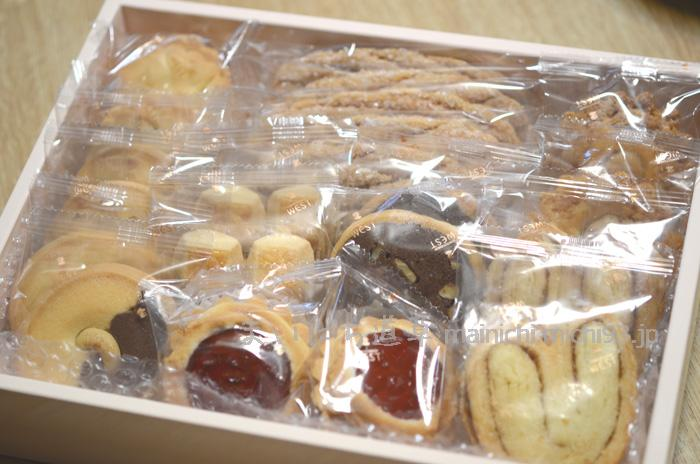 洋菓子舗ウエストのドライケーキ(22袋入)
