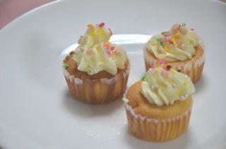[長女のパティシエ修行] #14 シフォンカップケーキ