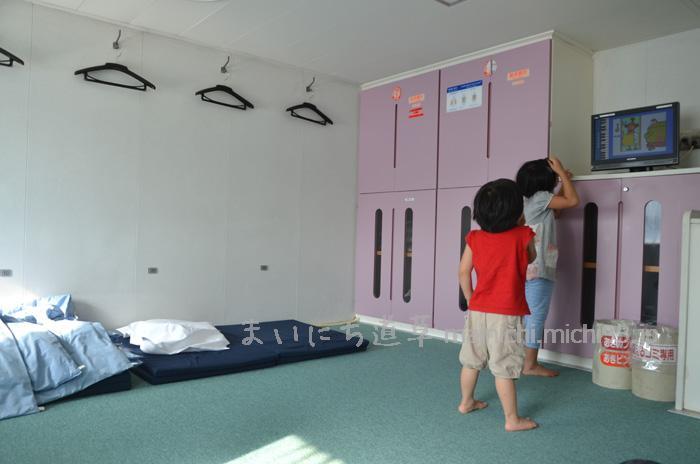 一等室のお部屋