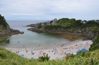 2016年夏休み、伊豆諸島の式根島へ子連れキャンプ旅(後編)